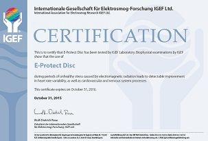 E-PROTECT-DISCcertyfikat